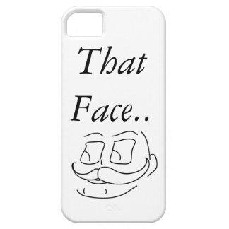 Esa cara iPhone 5 Case-Mate protector