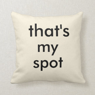 Ésa es mis almohadas de tiro del punto