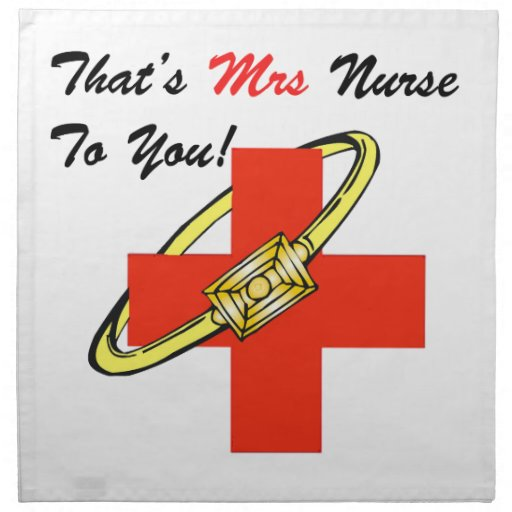Ésa es señora enfermera a usted servilletas de papel