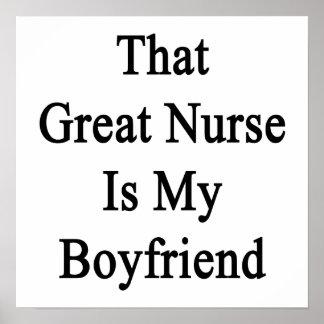 Esa gran enfermera es mi novio póster