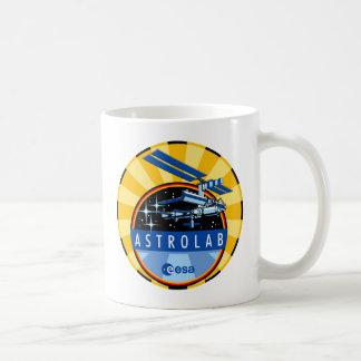 ESA s ASTROLAB Mission Patch Coffee Mugs