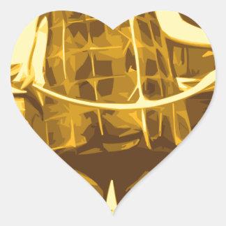 esa sensación 70s pegatina en forma de corazón