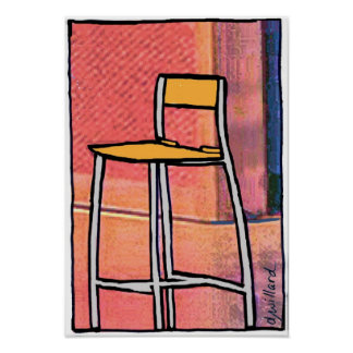 Esa silla vacía póster