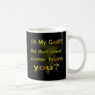 Esa taza de café del olor