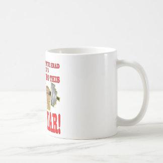 Esa voz en su cabeza es un mentiroso (el taza de café