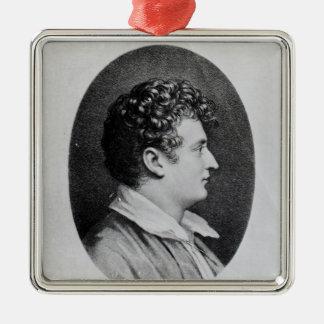 Esaias Tegner Metal Ornament