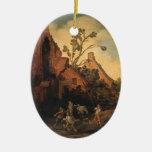 Esaias van de Velde- el robo Ornamento Para Arbol De Navidad