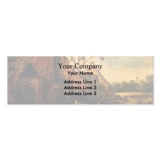 Esaias van de Velde- The robbery Business Card Template