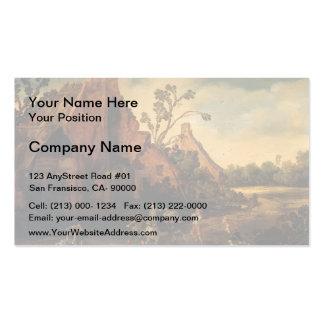 Esaias van de Velde- The robbery Business Card