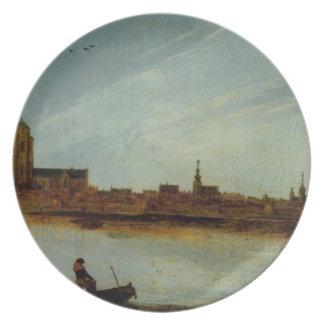 Esaias van de Velde- View of Zierikzee Plate