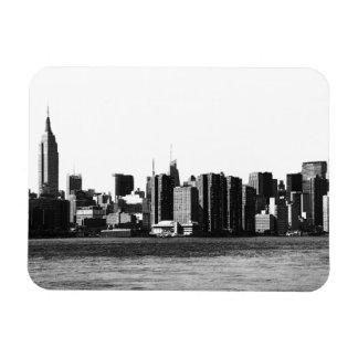 ESB del horizonte de NYC, opinión 001 de East Imán Rectangular