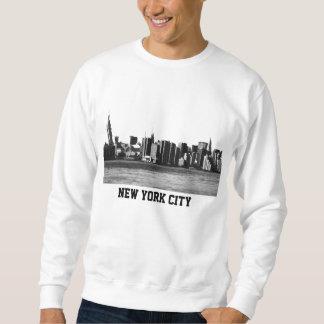 ESB del horizonte de NYC, opinión 001 de East Sudadera Con Capucha