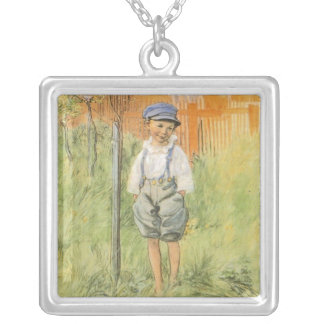 Esbjorn and Apple Tree Silver Plated Necklace