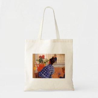 Esbjorn Brings Karin Violets Tote Bag