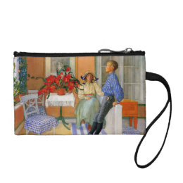 Esbjorn Brother and Sister in Sunroom Coin Purse