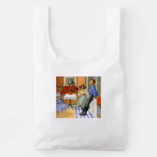 Esbjorn Brother and Sister in Sunroom Reusable Bag