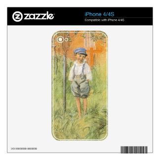 Esbjorn y manzano calcomanías para el iPhone 4