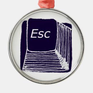esc metal ornament