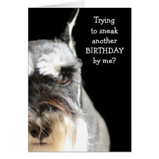 ¿Escabúllase otro cumpleaños? Tarjeta De Felicitación