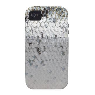 Escala de los salmones iPhone 4 funda