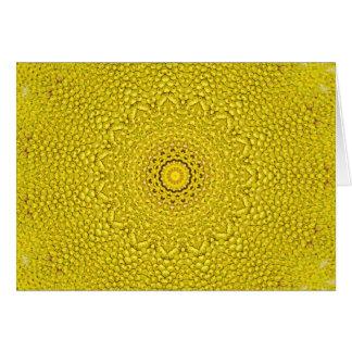 Escala floral del jackfruit como modelo tarjeta de felicitación