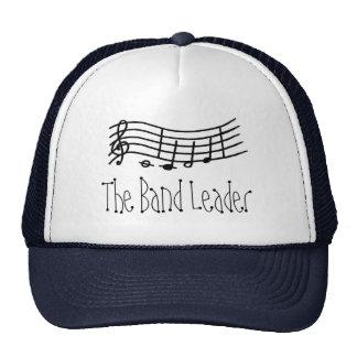 Escala y notas onduladas - el gorra de la música