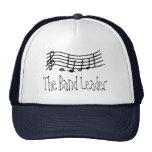 Escala y notas onduladas - el gorra de la música d