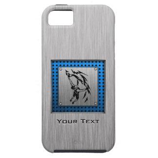 Escalada cepillada de la mirada del metal iPhone 5 fundas