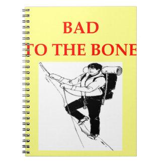 escalada cuadernos