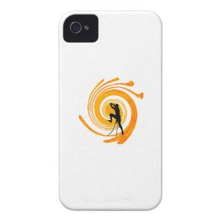 ESCALADOR DEL DÍA DEL SOL iPhone 4 PROTECTOR