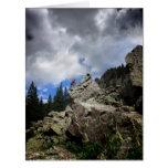 Escalador - desierto de Weminuche - Colorado Tarjeta