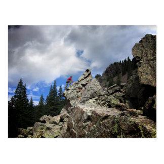 Escalador - desierto de Weminuche - Colorado Tarjetas Postales
