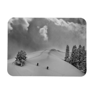 Escaladores del esquí de Backcountry en polvo Imanes