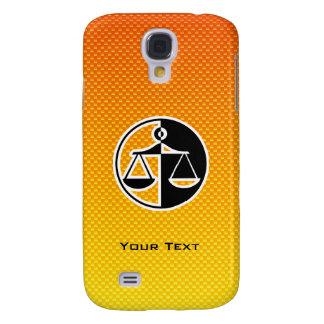 Escalas amarillo-naranja de la justicia