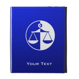 Escalas azules de la justicia