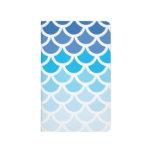 Escalas azules de la sirena de Ombre Cuadernos Grapados