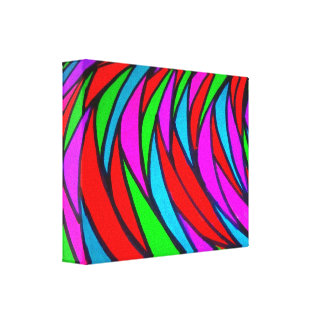 Escalas coloridas - alt impresión de lienzo