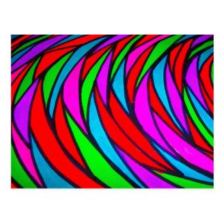 Escalas coloridas - alt postal