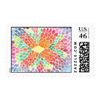 Escalas coloridas - diseño abstracto vivo de la ac
