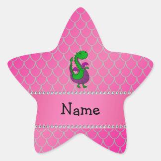 Escalas conocidas personalizadas del rosa del drag calcomanías forma de estrellaes personalizadas