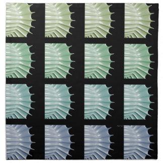 Escalas de colores servilletas de papel