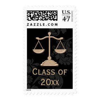 Escalas de la clase del colegio de abogados de la sello postal