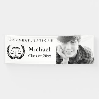Escalas de la graduación del colegio de abogados lona