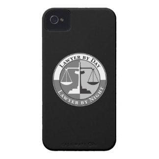 Escalas de la justicia Case-Mate iPhone 4 protectores