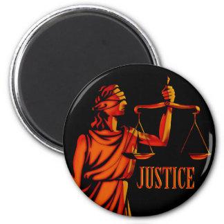 Escalas de la justicia imán redondo 5 cm
