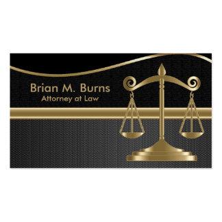 Escalas de la ley el | del abogado de la justicia tarjetas de visita