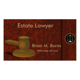 Escalas de la ley el | del abogado del tarjetas de visita