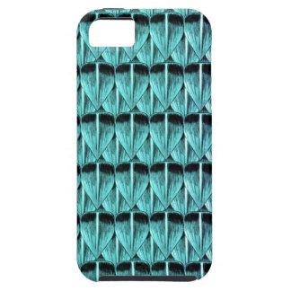 Escalas de la púrpura y del azul funda para iPhone SE/5/5s