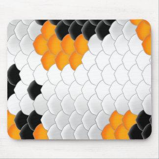 Escalas de pescados de Koi Mouse Pads