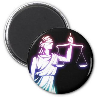 Escalas de Themis el | de la justicia Imán Redondo 5 Cm